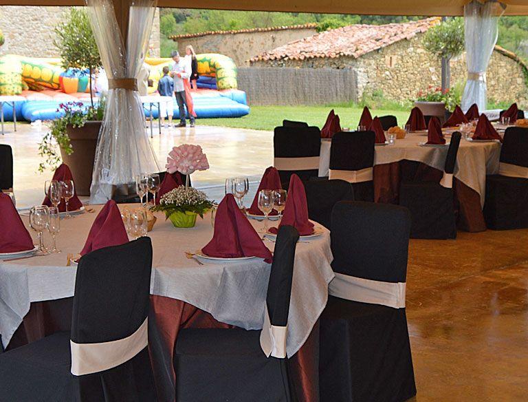 Restaurante menú de grupos Osona
