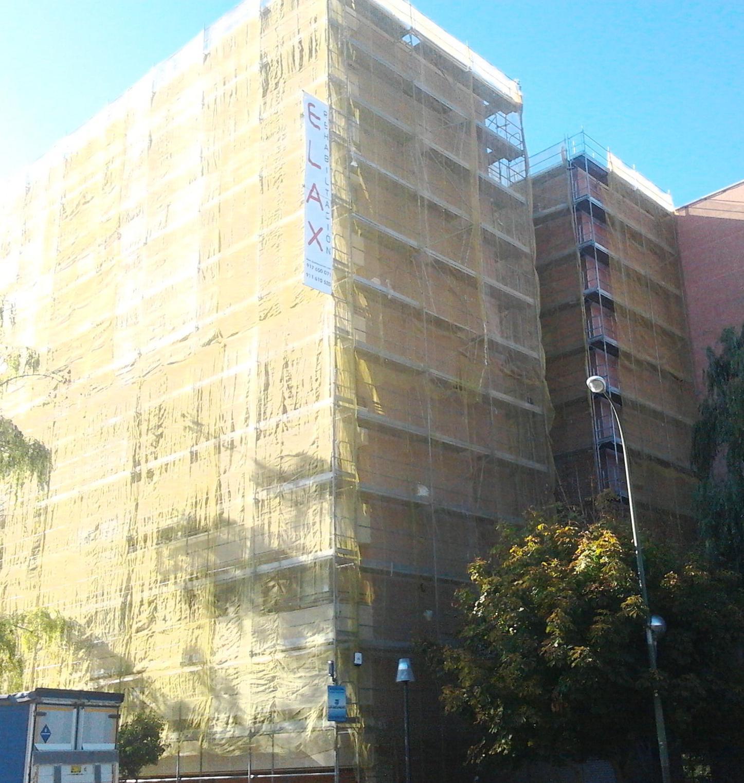 Foto 1 de Rehabilitación de edificios en Madrid | Elax Rehabilitación