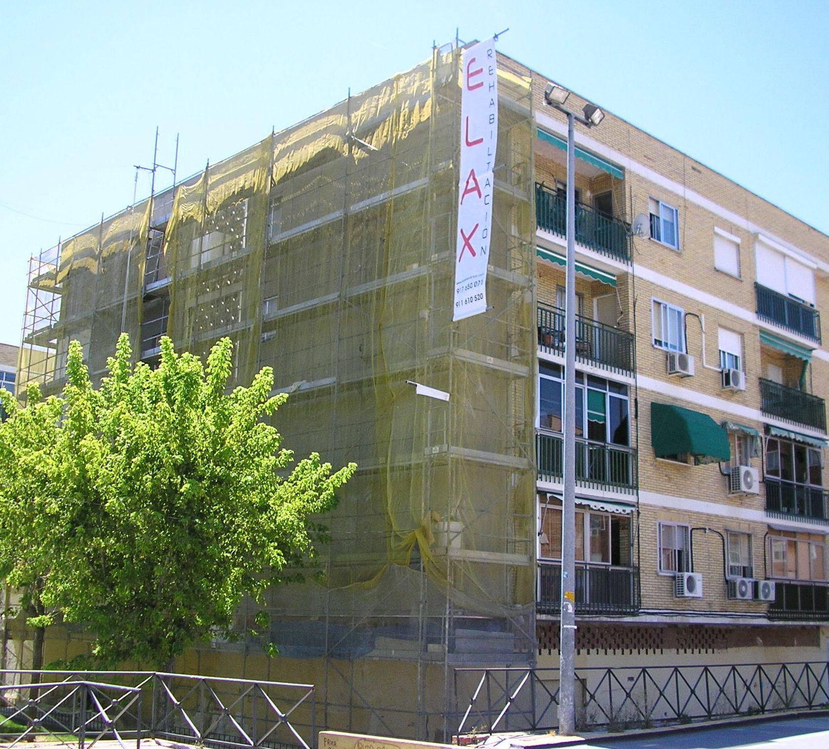 Foto 14 de Rehabilitación de edificios en Madrid | Elax Rehabilitación