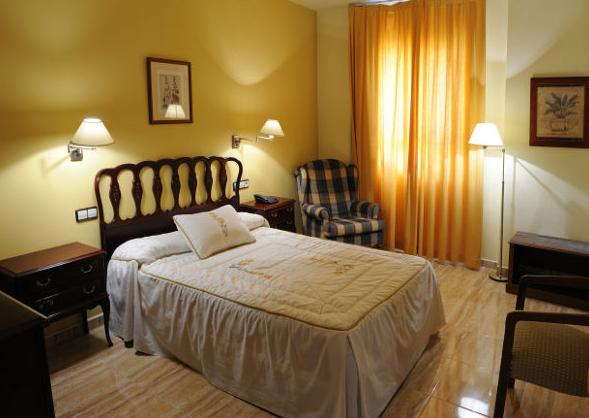 Habitaciones del hotel El Oasis