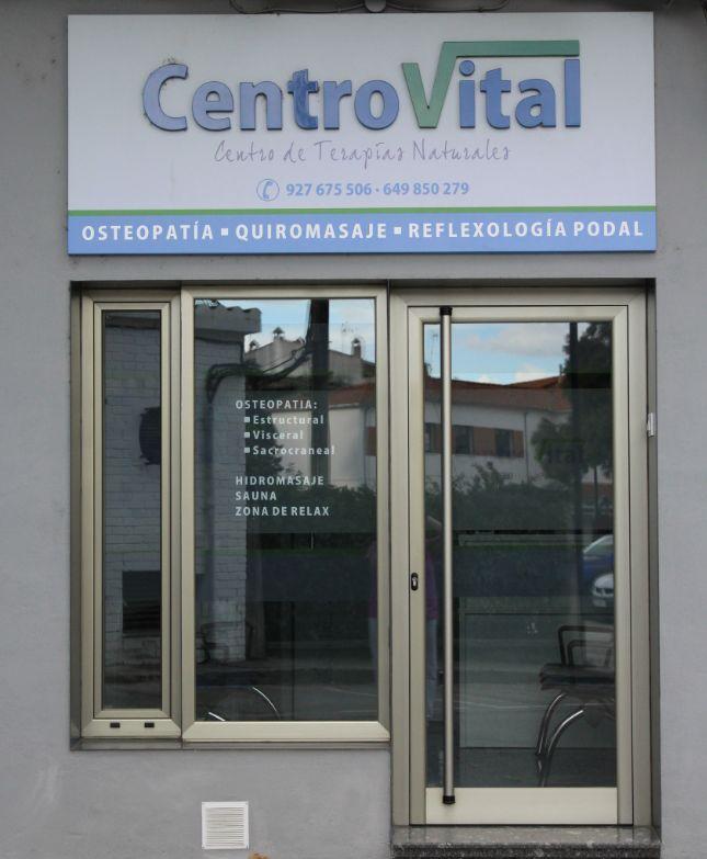 Centro de osteopatía en Montehermoso