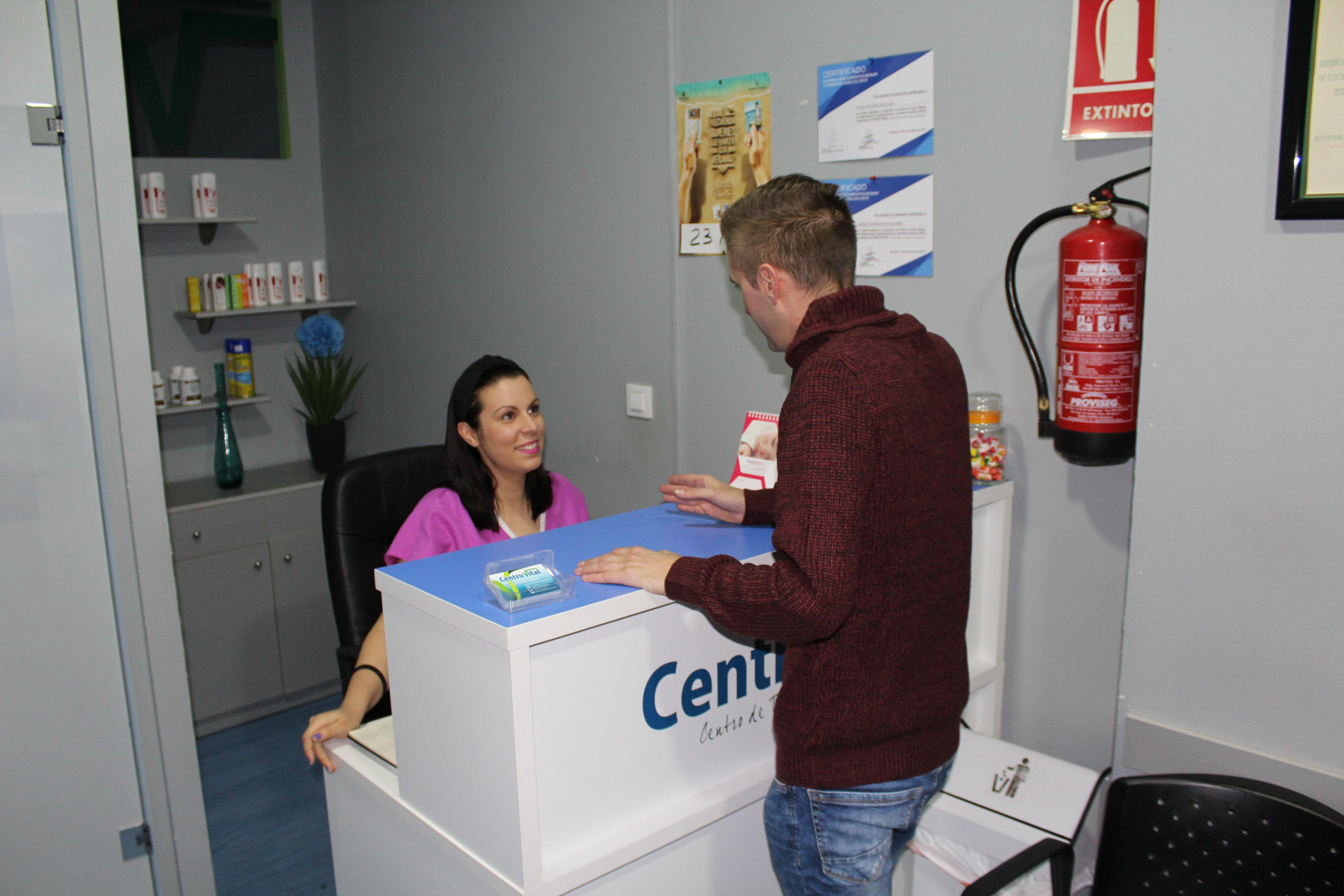 Recepción Centro Vital
