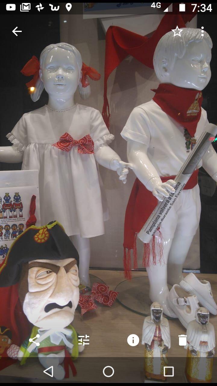 Ropa para niños en Pamplona
