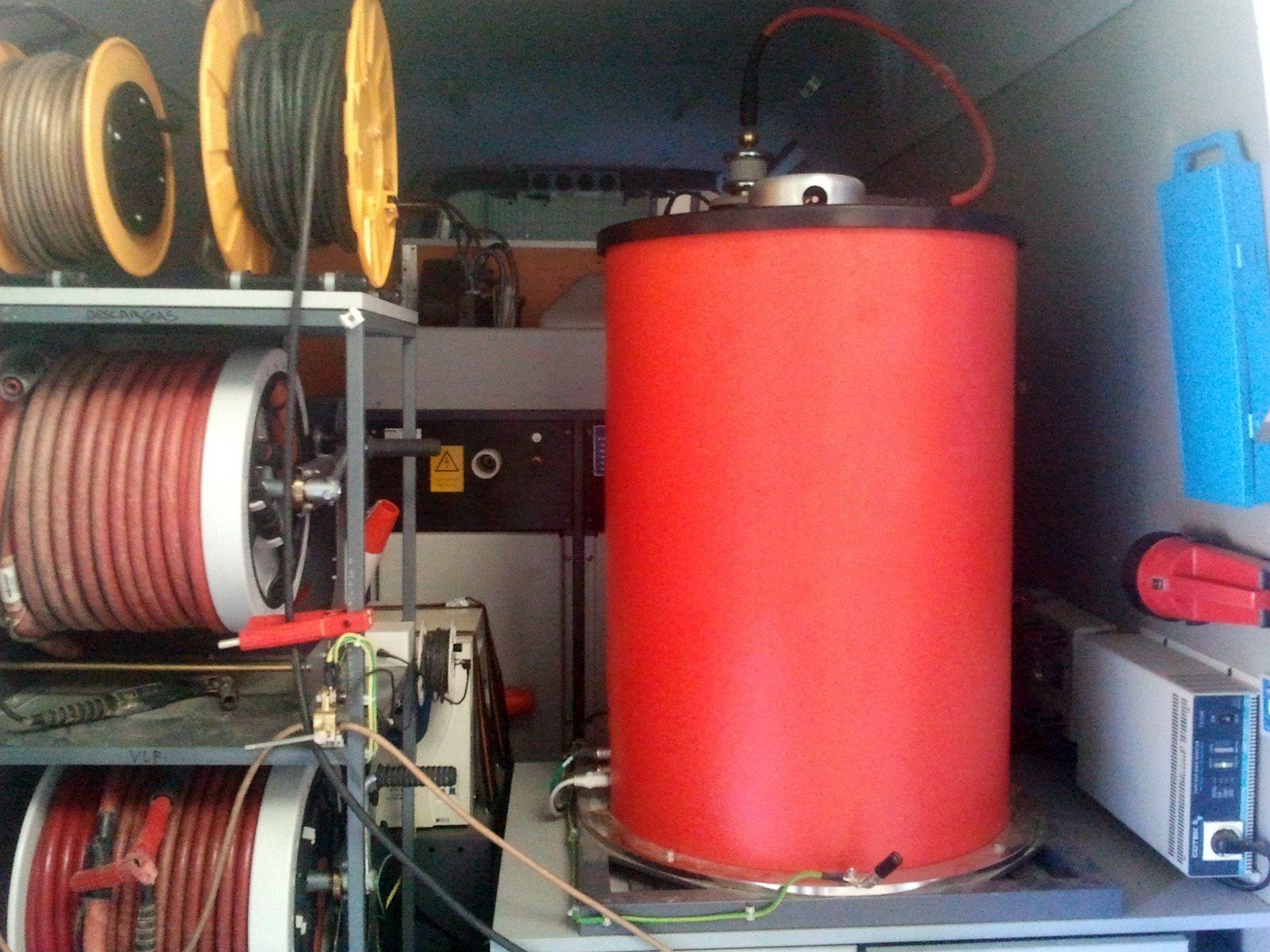 Descargas parciales (Tecnología OWTS): Servicios de Electricidad Matencio