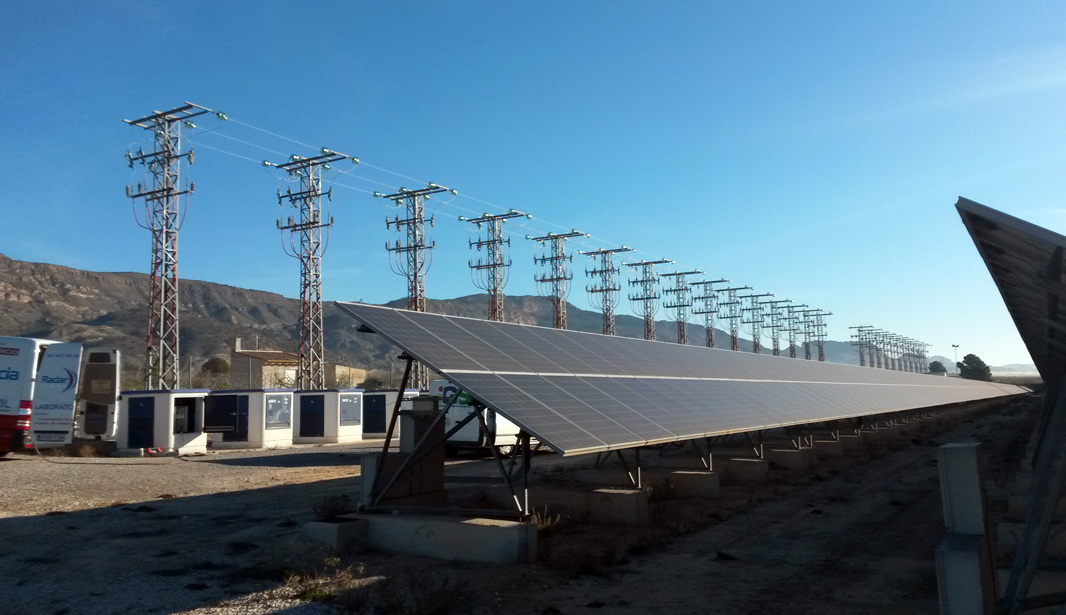Localización de avería en BT en parque solar de Cieza