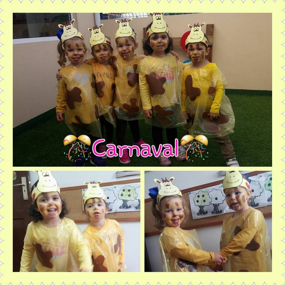 Nos disfrazamos de Jirafa también en este Carnaval!