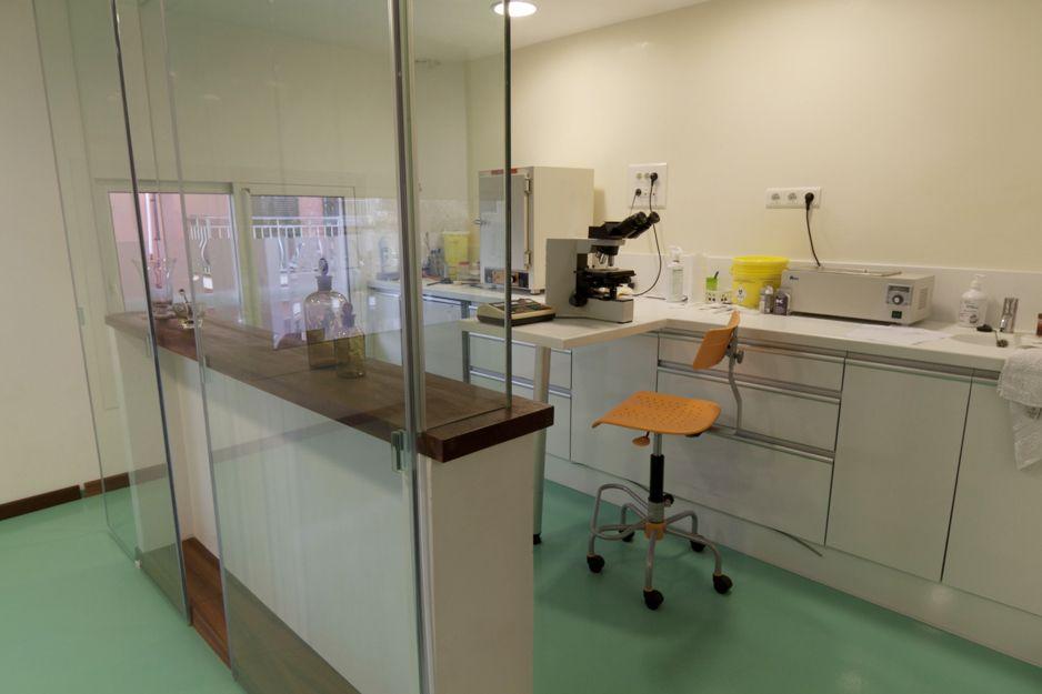 Laboratorio de análisis en Menorca