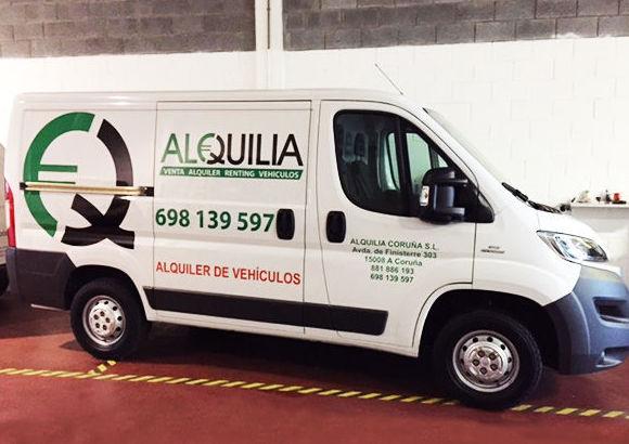 Alquiler de todo tipo de furgones y furgonetas