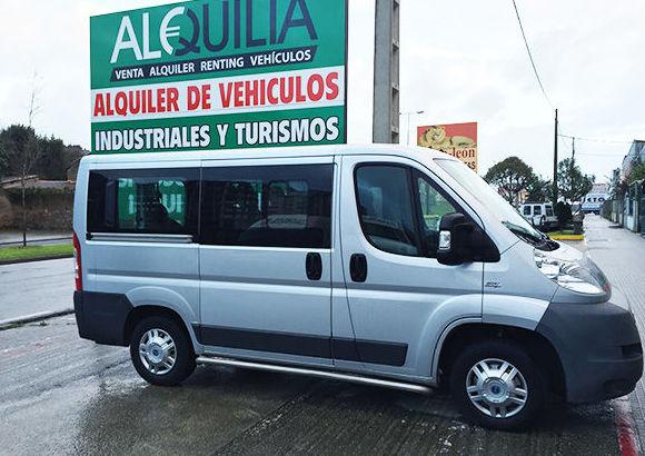 Alquiler de vehículos industriales y turismos en A Coruña