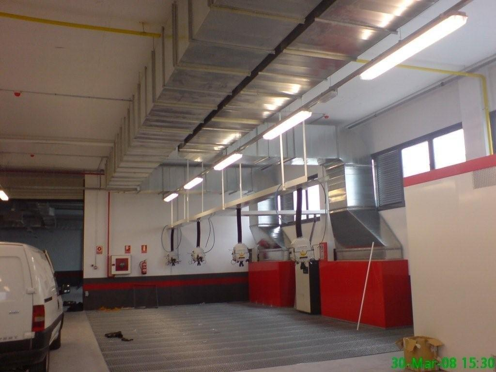 Conductos de cabina de pintura: Servicios que ofrecemos de Climeeg