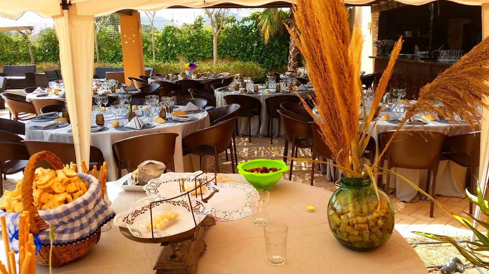 Foto 4 de Alquiler de sillas, mesas y menaje en El Palmar | Mantelería & Menaje