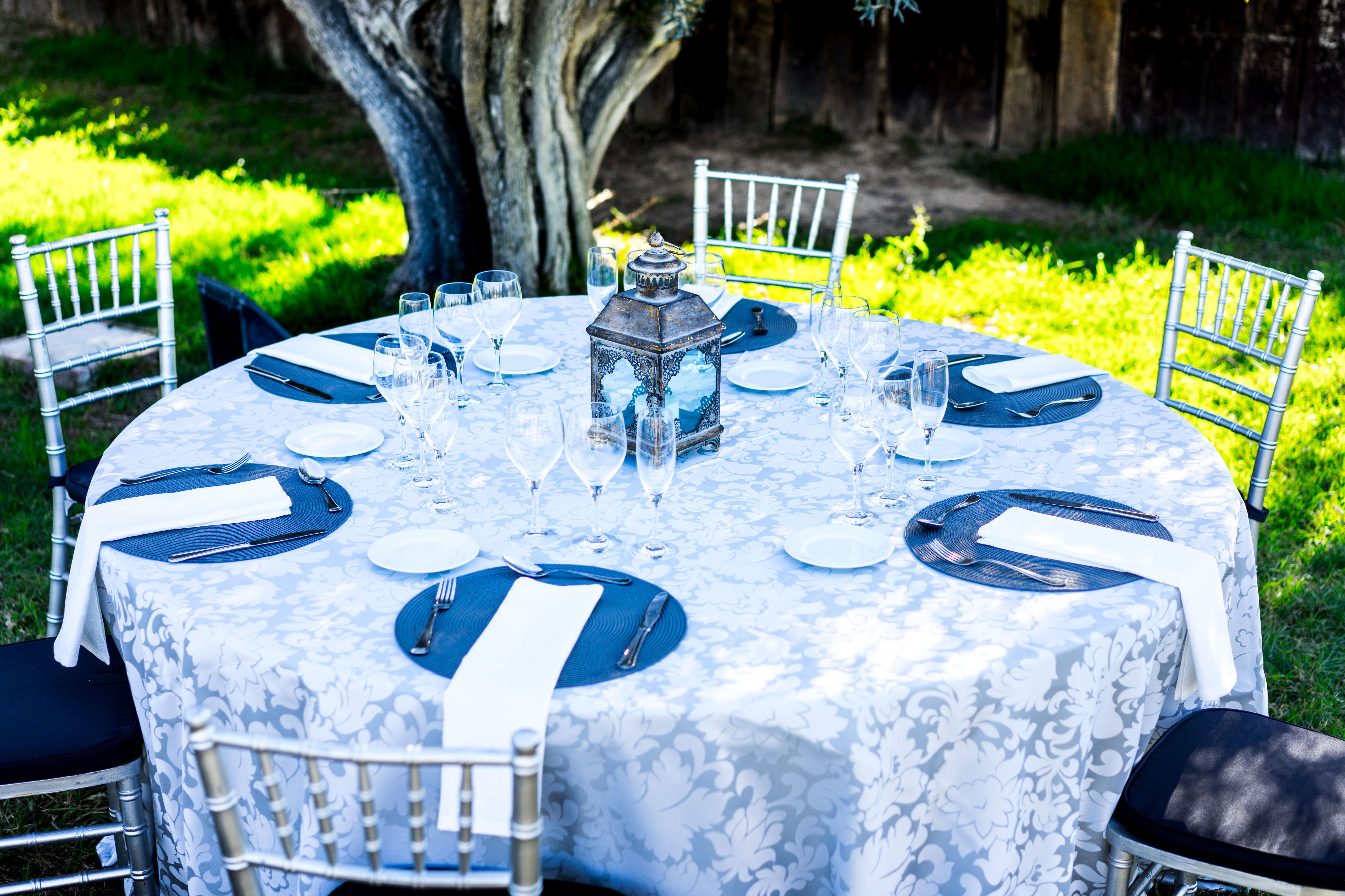 Foto 19 de Alquiler de sillas, mesas y menaje en El Palmar | Mantelería & Menaje
