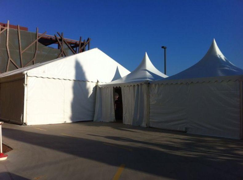 Empresa especializada en el alquiler de carpas, mesas...en Murcia