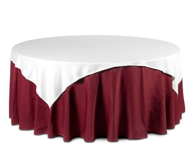 Cubre mantel blanco: Alquiler de Mantelería & Menaje