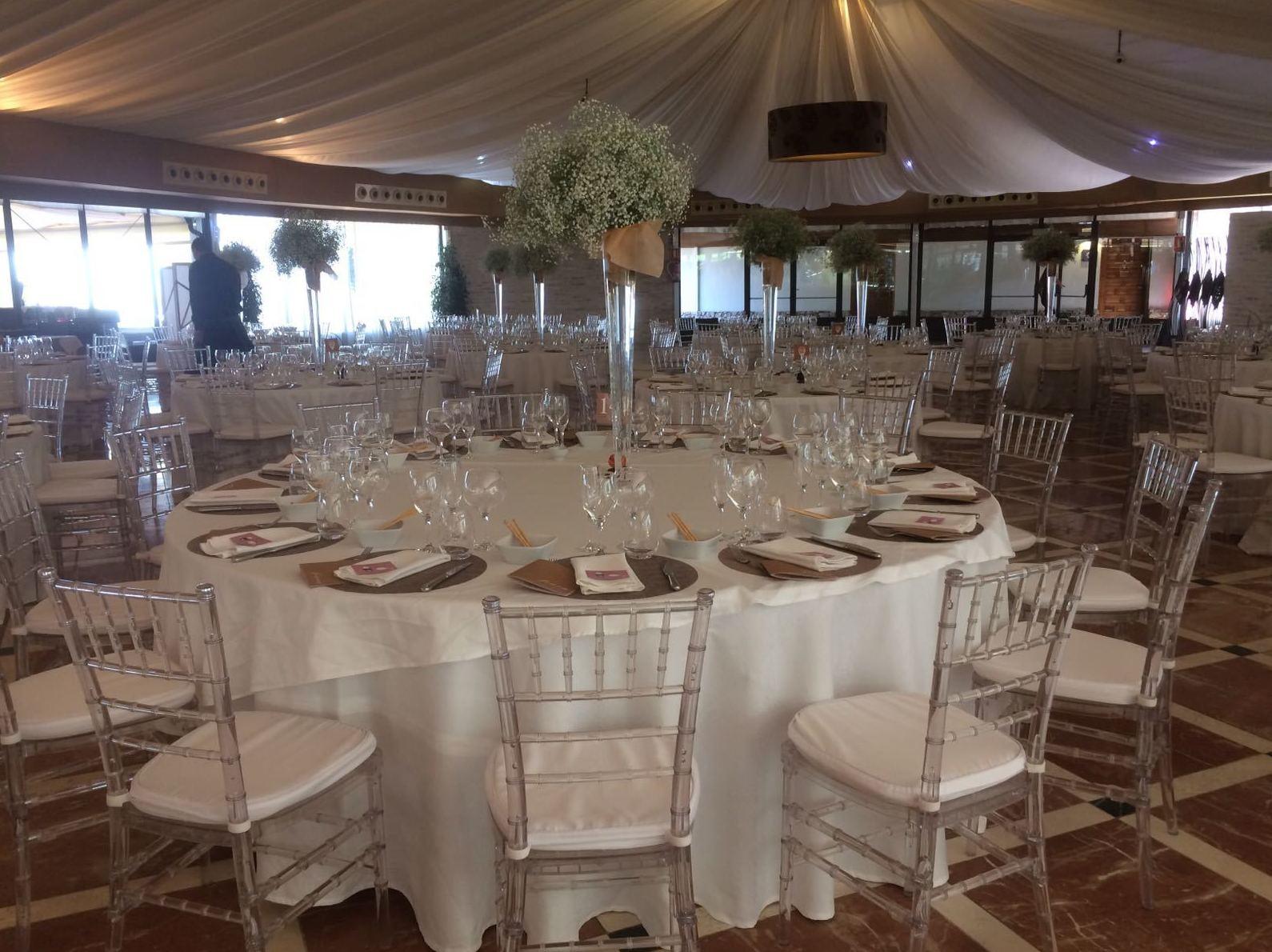 Foto 83 de Alquiler de sillas, mesas y menaje en  | Mantelería & Menaje