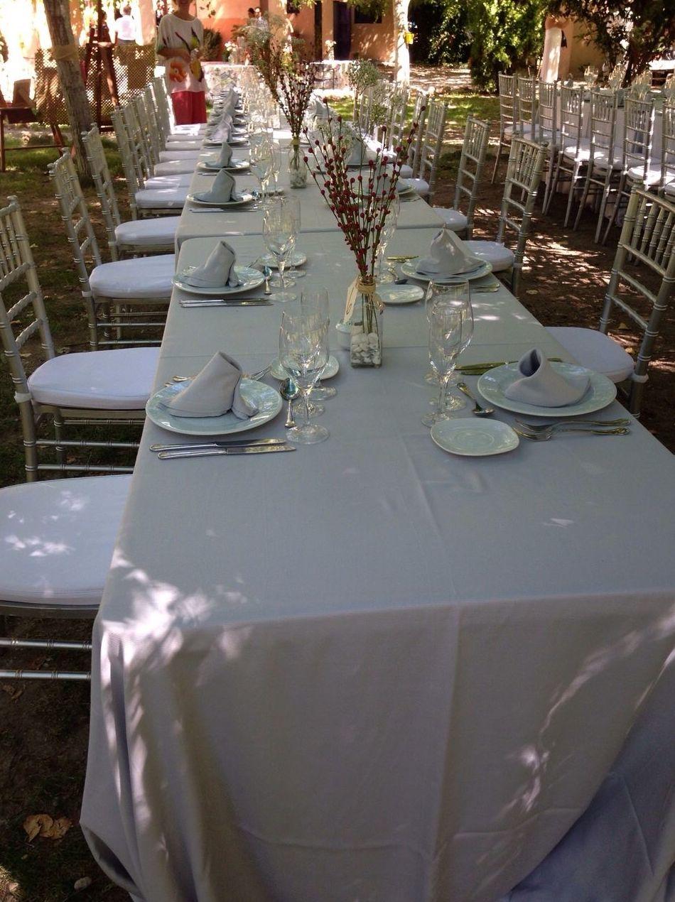 Alquiler de sillas, mesas, mantelerias en Murcia