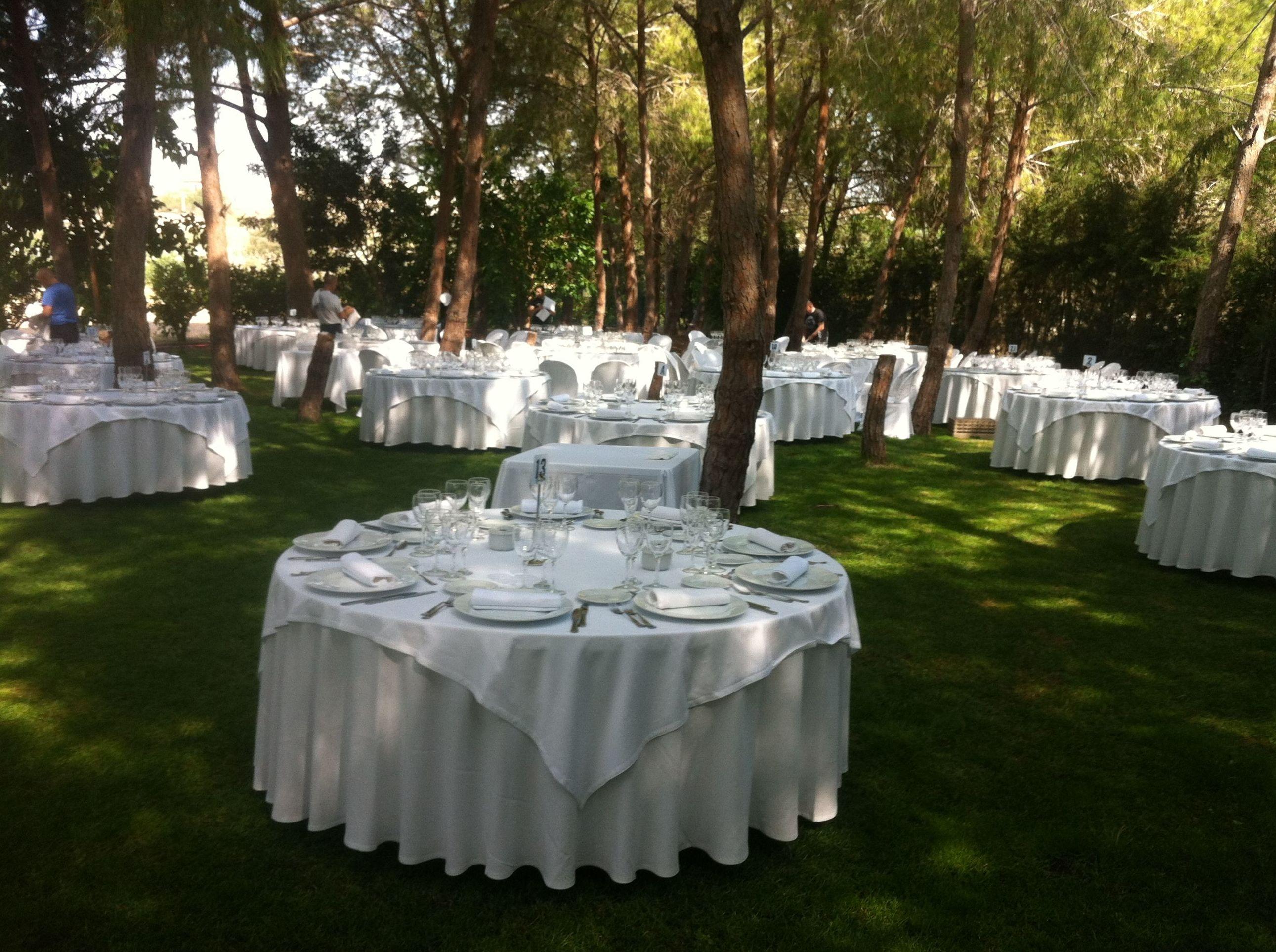 Empresa especilizada en organizar bodas o eventos