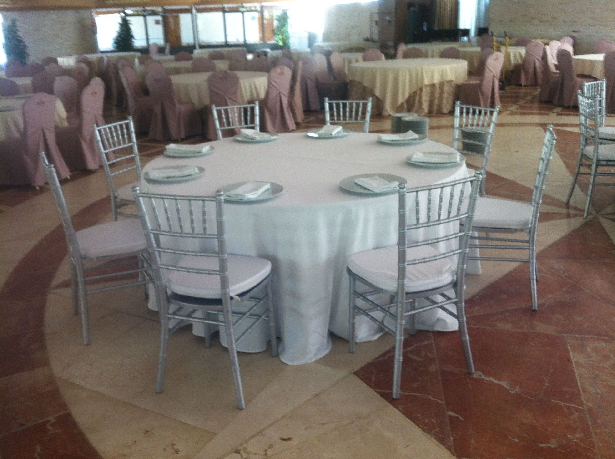 Alquiler de sillas y mesas en Murcia