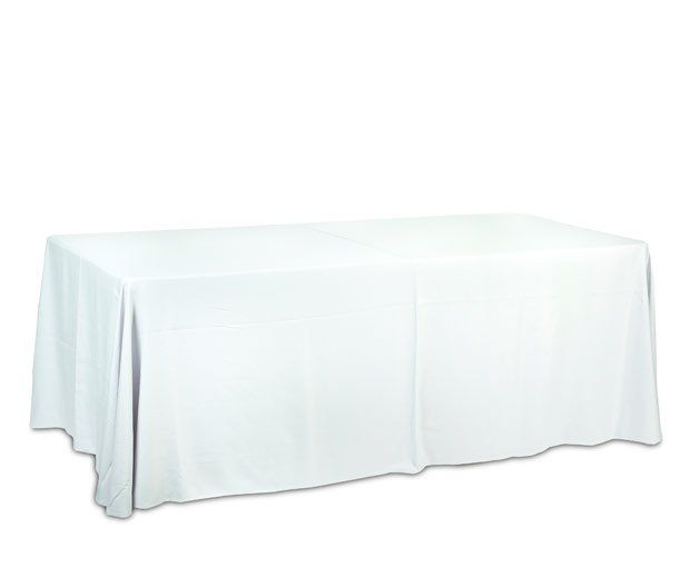 Mantel rectangular blanco: Alquiler de Mantelería & Menaje
