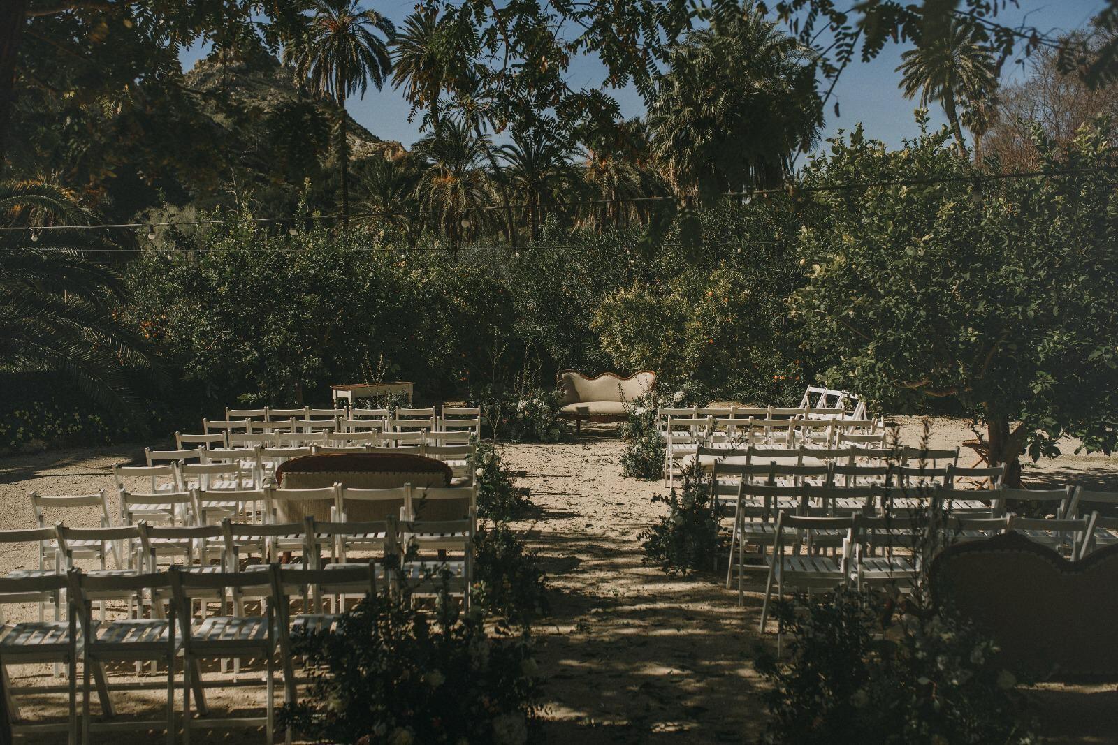 Alquiler mesas y sillas Murcia
