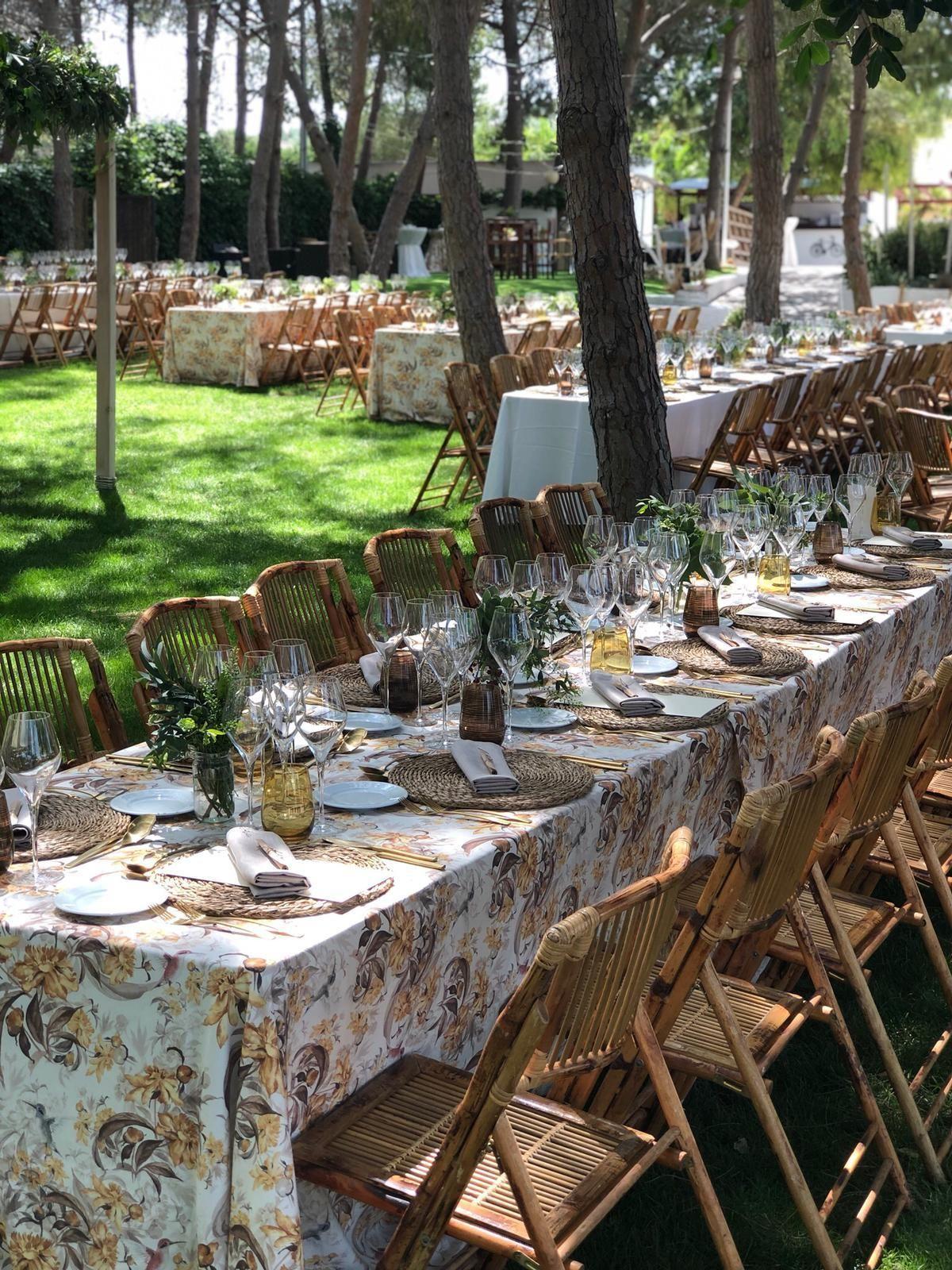 Alquiler de sillas y mesas Albacete