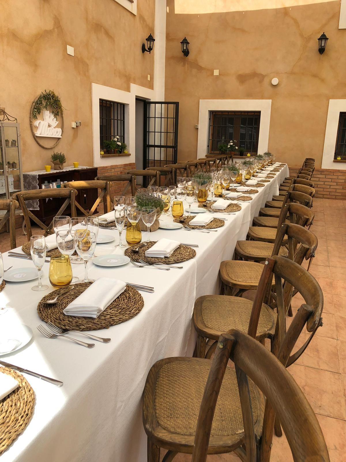 Alquiler de mobiliario Murcia