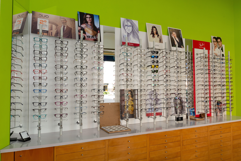 Expositor de gafas para la vista