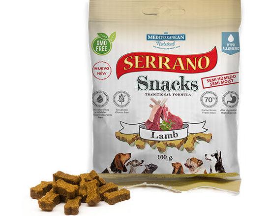 Serrano snacks mascotas adiestramiento tienda animales madrid