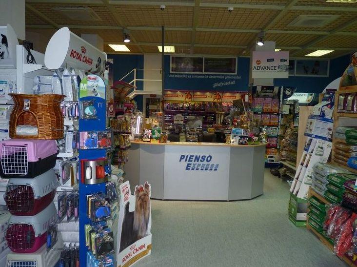 Tienda de alimentación para animales en Arganzuela, Madrid