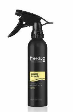Perfume Freedog aroma vainilla perros Madrid