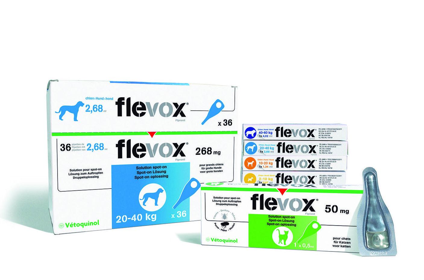 Flevox pipetas