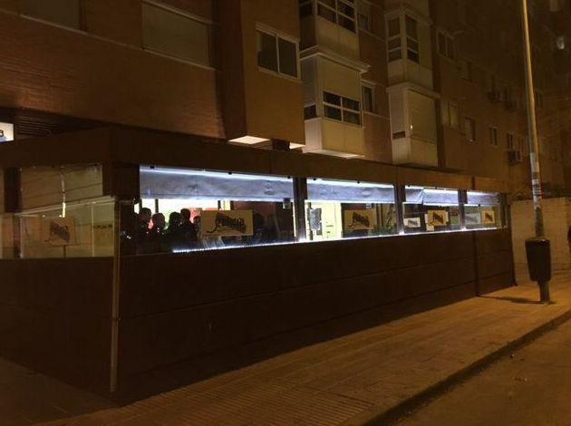 Restaurante gallego con terraza exterior cubierta en Las Tablas