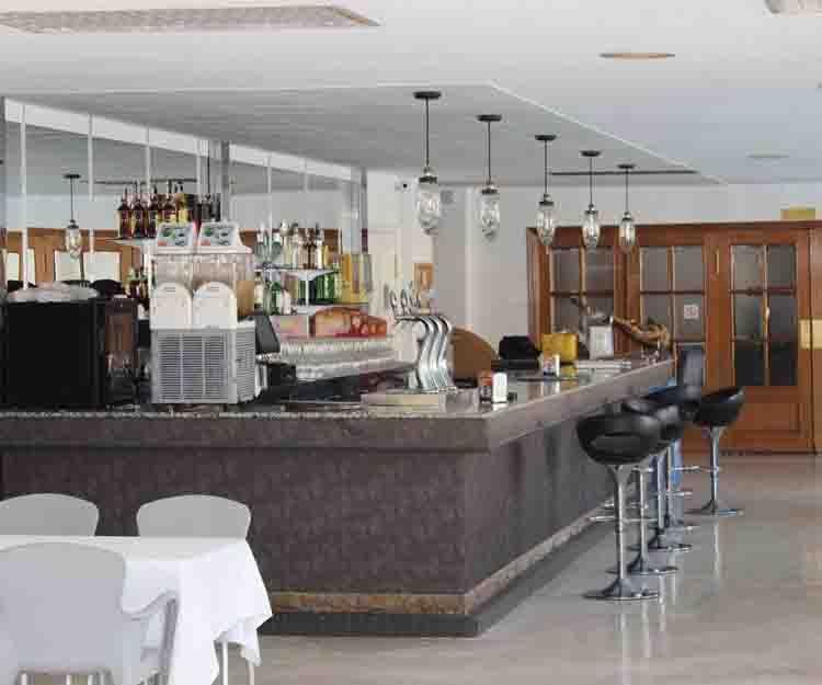 Barra de nuestro restaurante