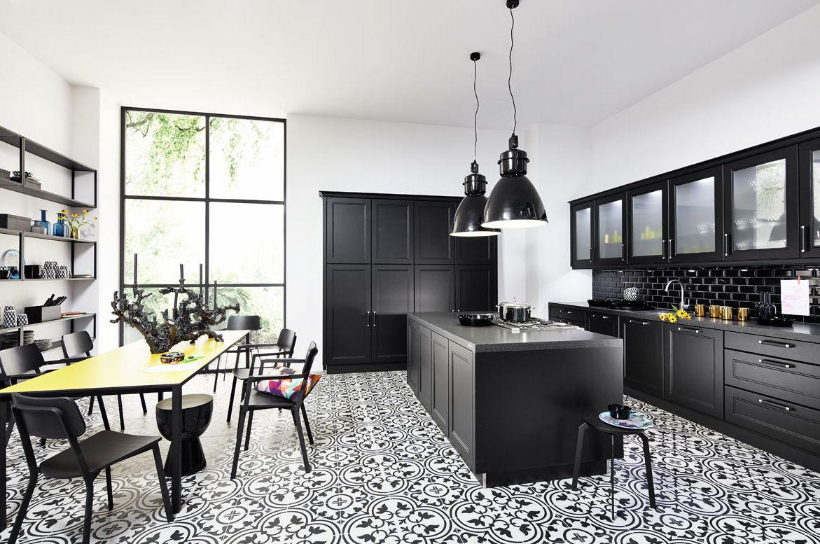 Muebles de diseño de diferentes estilos