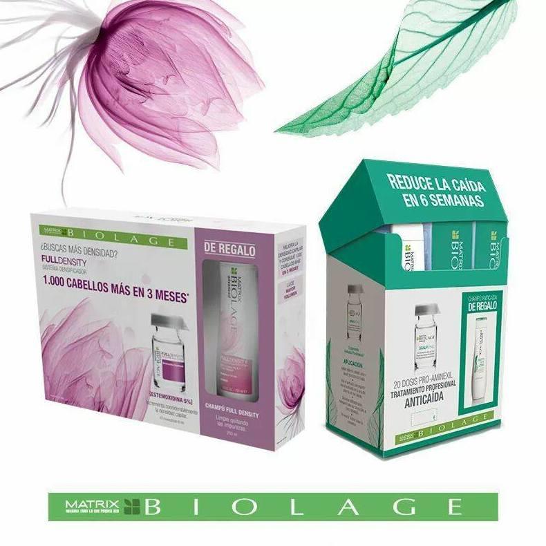 Full density y scalpsync tratamiento para la densidad y la caida del cabello.
