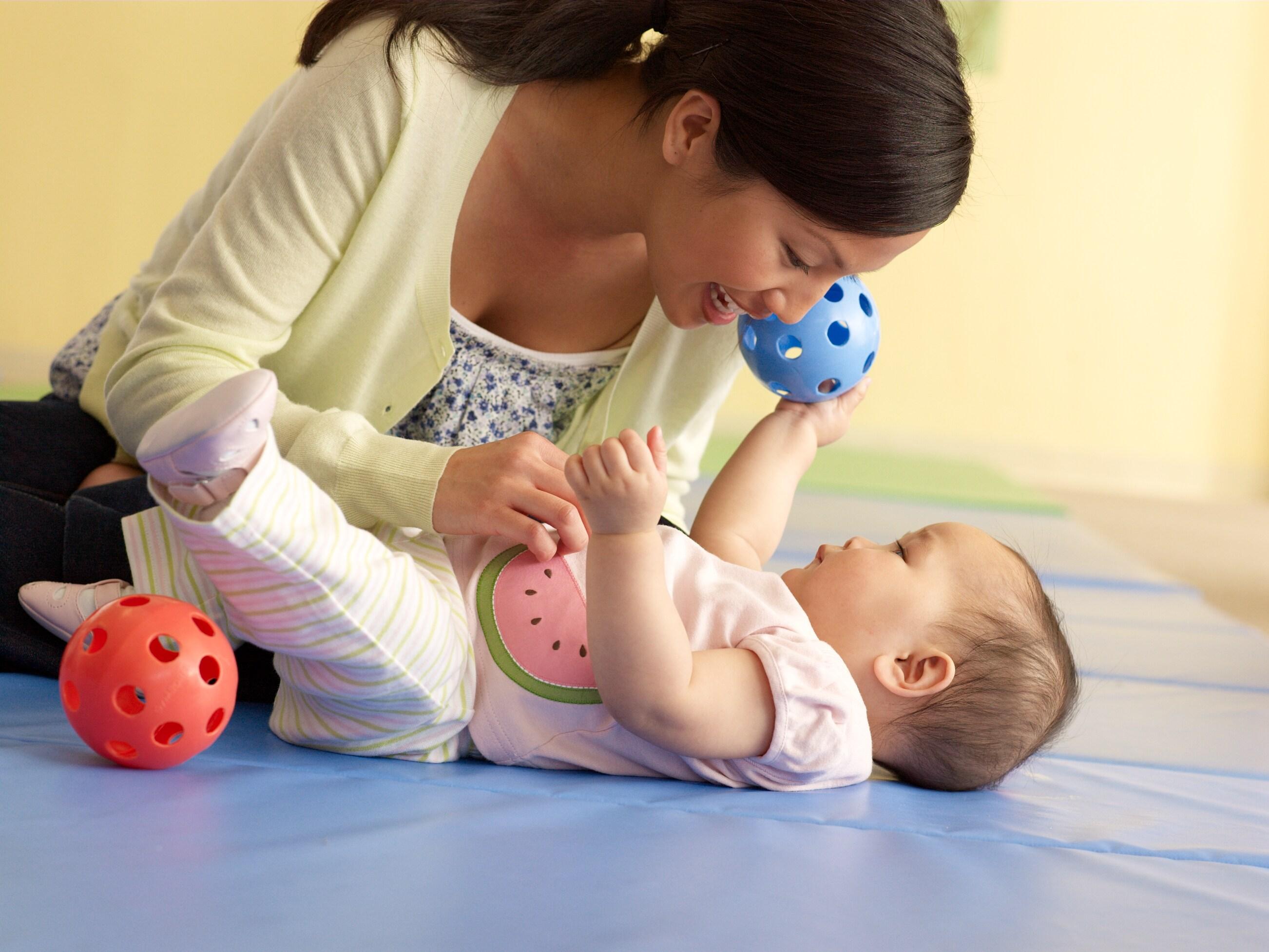 Clases para bebés de 2 a 8 meses
