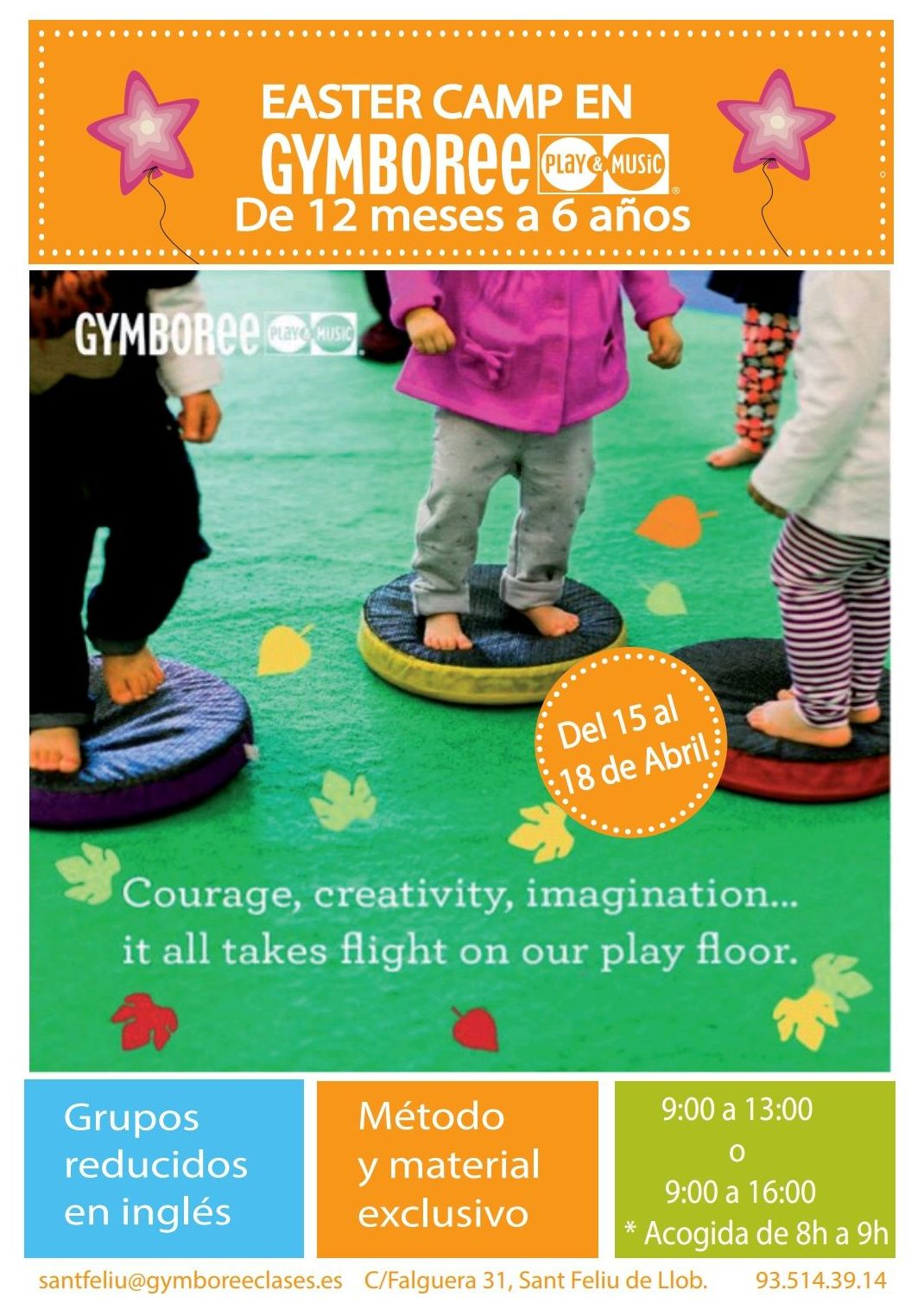 EASTER CAMP: Actividades de Gymboree Play & Music Sant Feliu