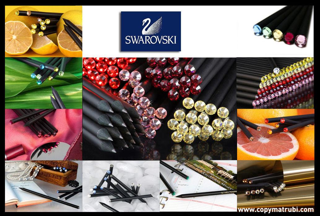 Swarovski lápices lujo