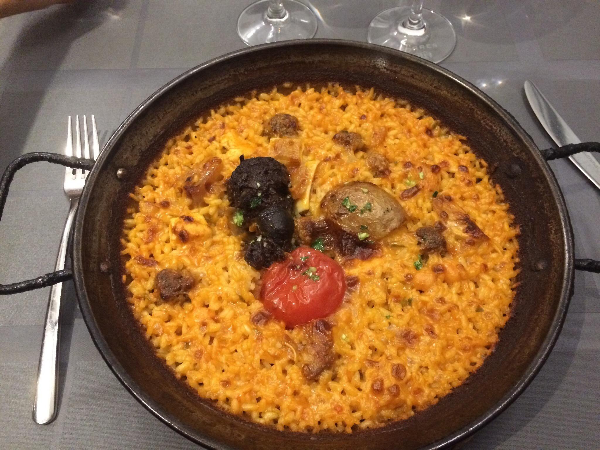 Restaurante arrocería en Barcelona