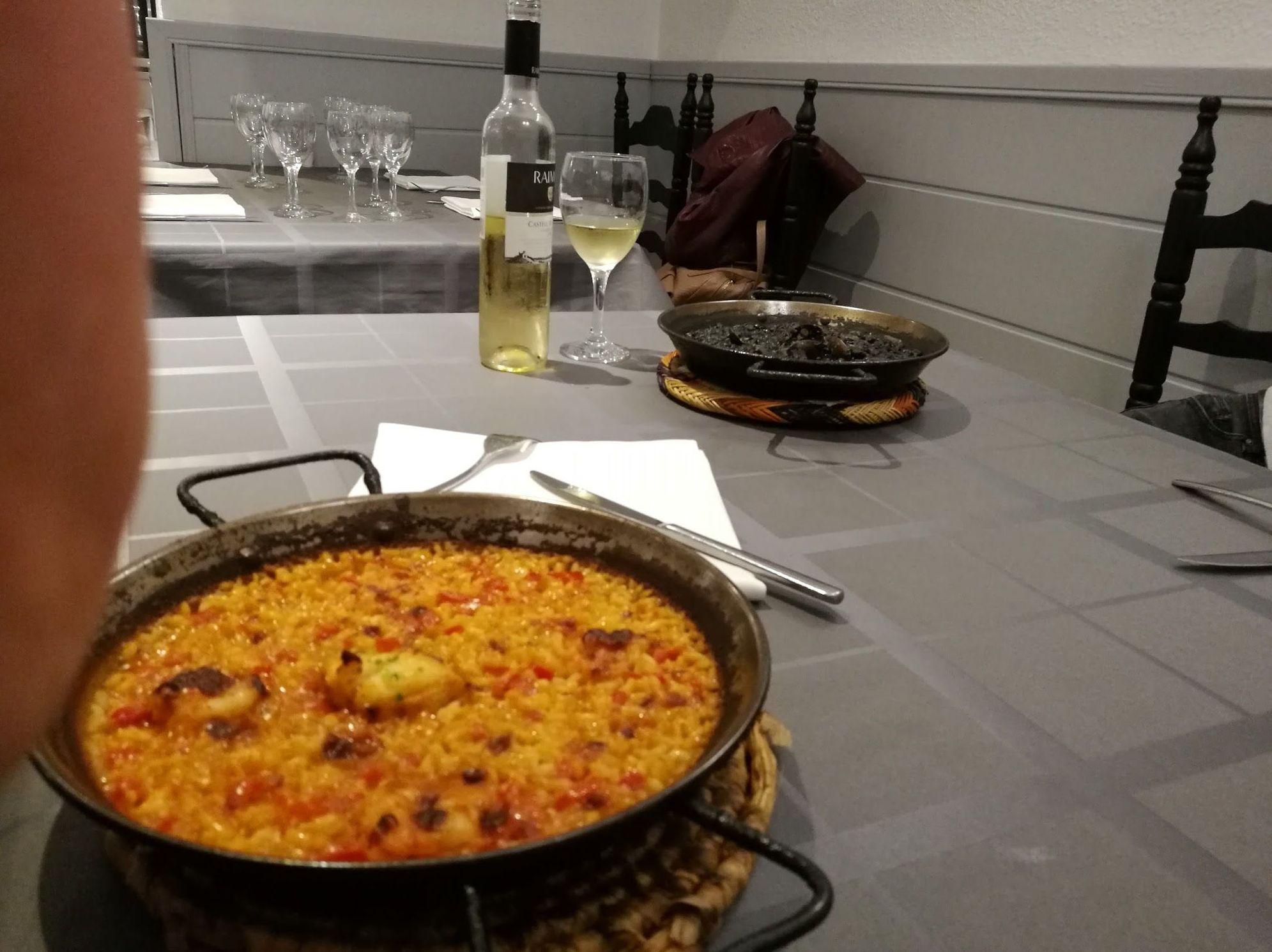 Comer arroz en barcelona
