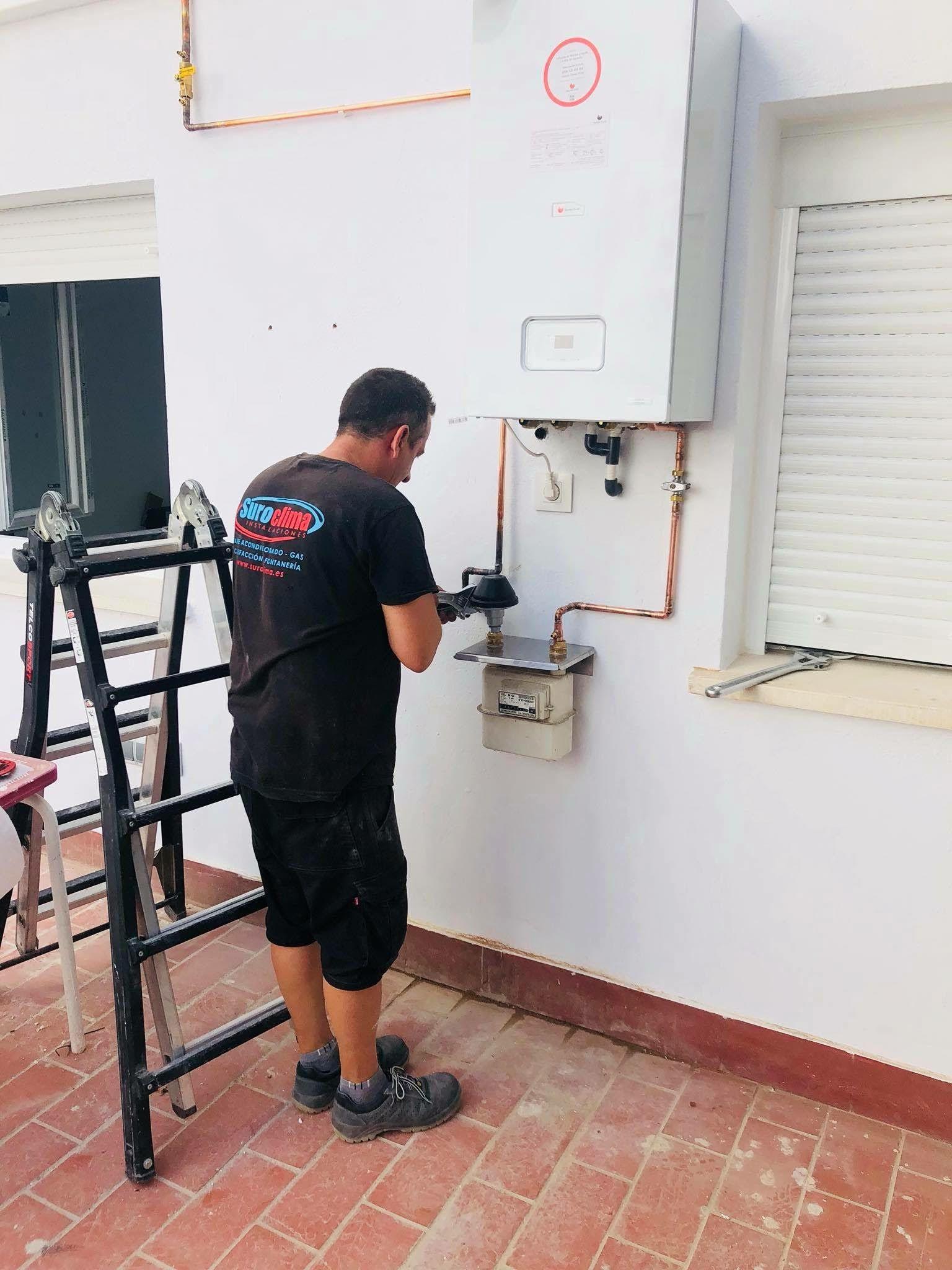 Instalación de calderas en Badajoz