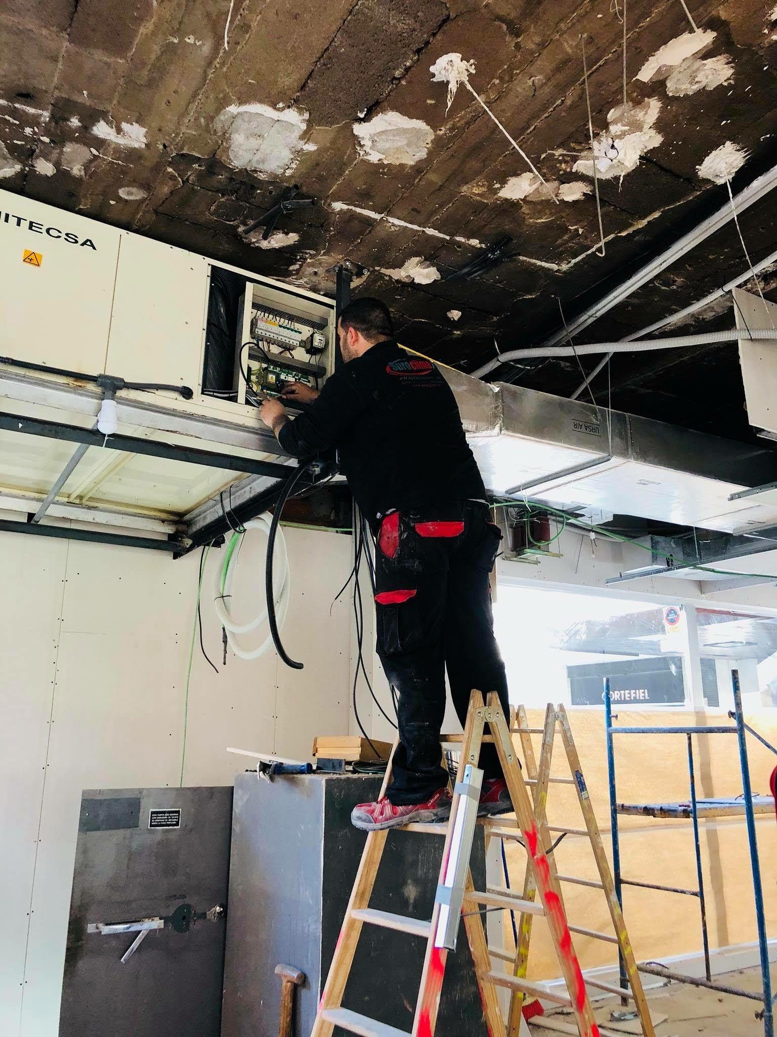 Especialistas en climatización en Badajoz