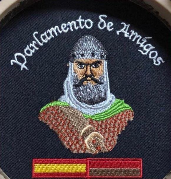 CAZADORAS BORDADAS CON EL CID PARLAMENTO DE AMIGOS