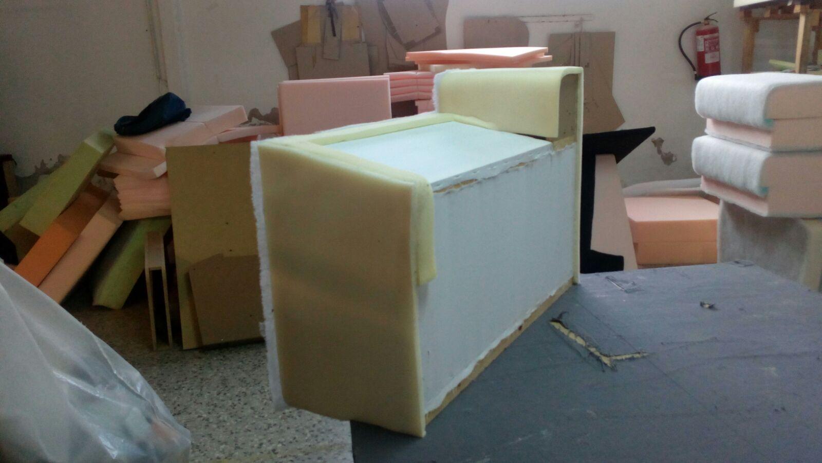 Fábrica de sofás en Terrassa
