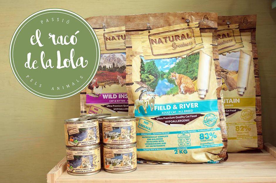 Alimentación natural para mascotas en Terrassa