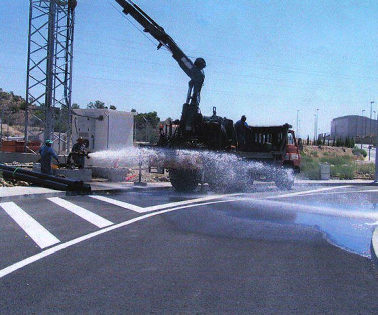 Pozos para extracción de aguas