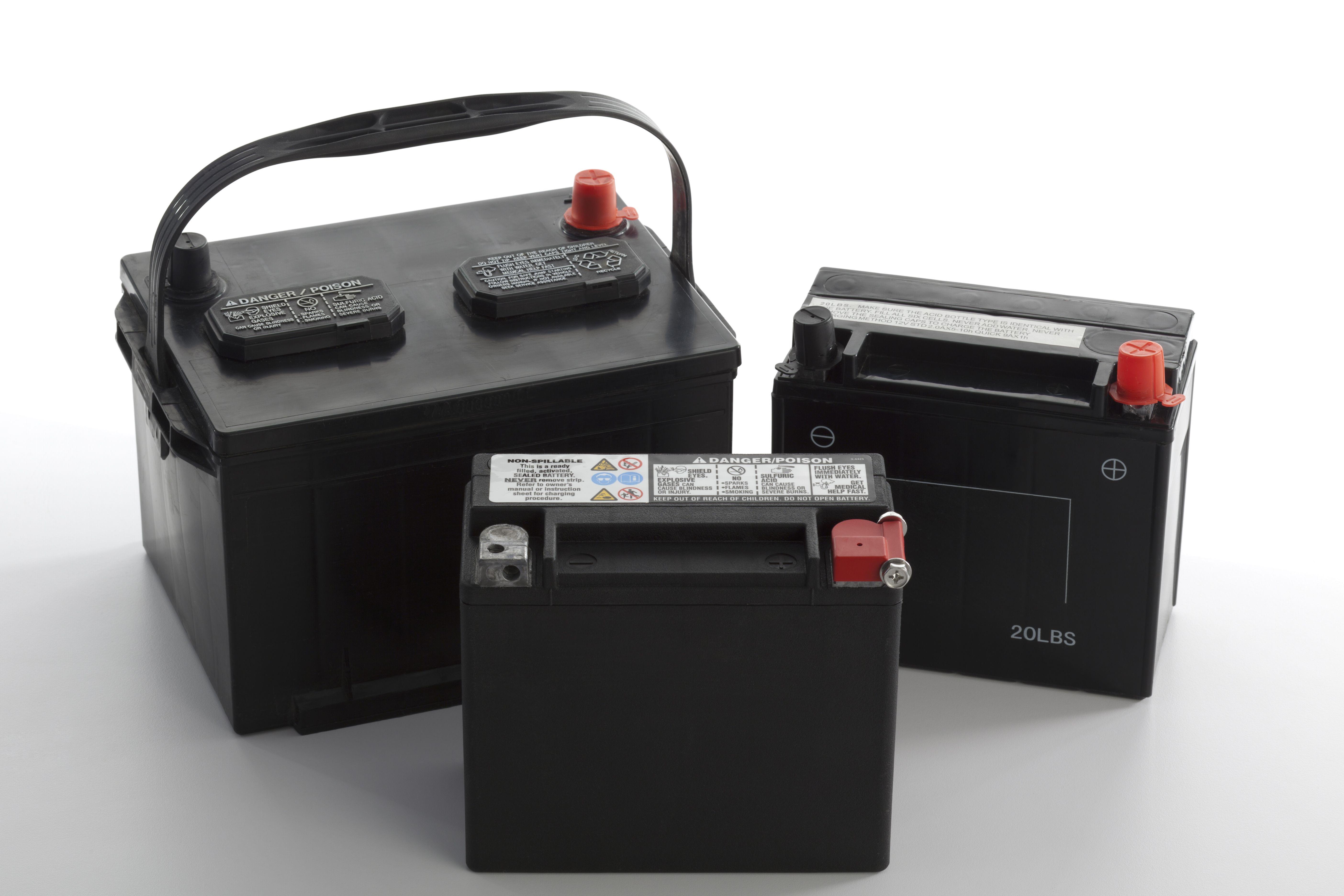 Baterías de automoción: Servicios de Reciclados Raya