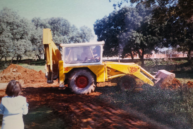 Excavadoras en Jaén