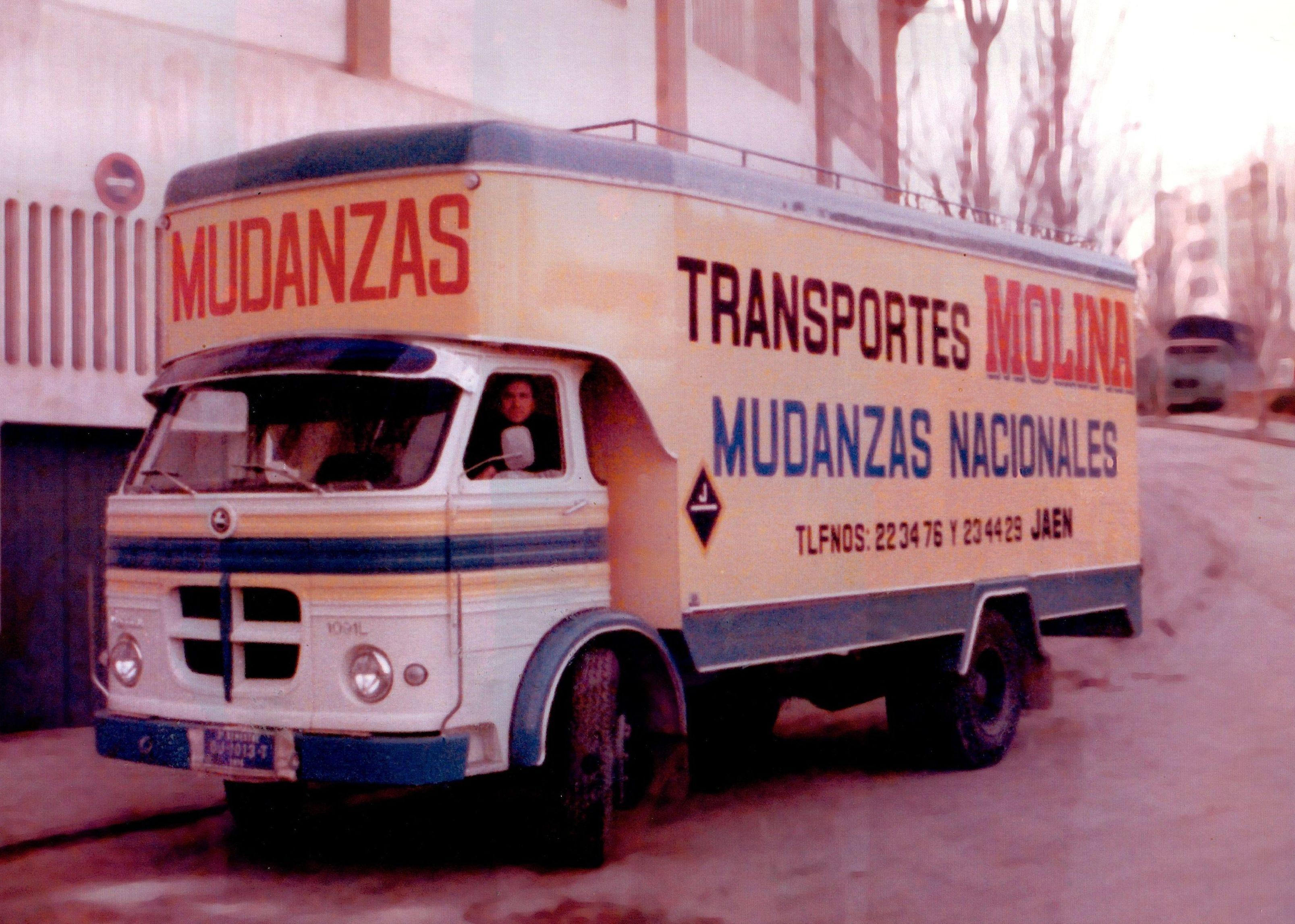 Mudanzas Molina en los años 80