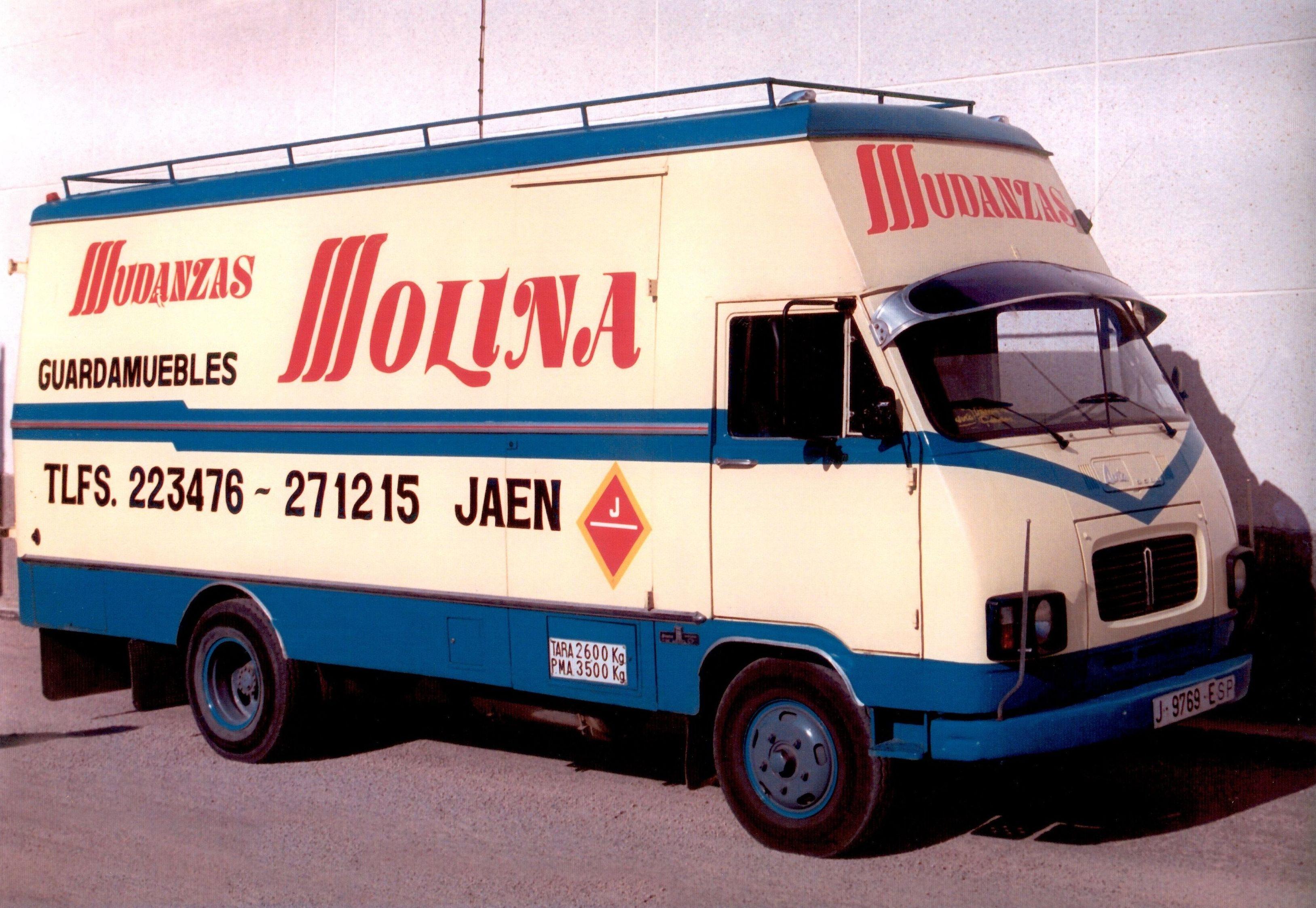 Siguiendo la Evolucion de Mudanzas Molina años 90